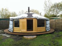 Costruire una yurta